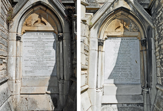 Fire Memorials
