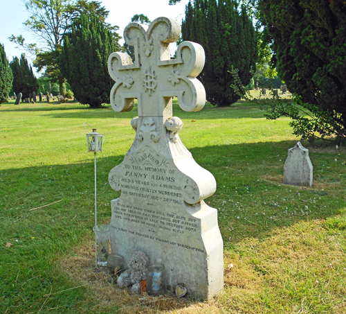 Fanny Adams grave