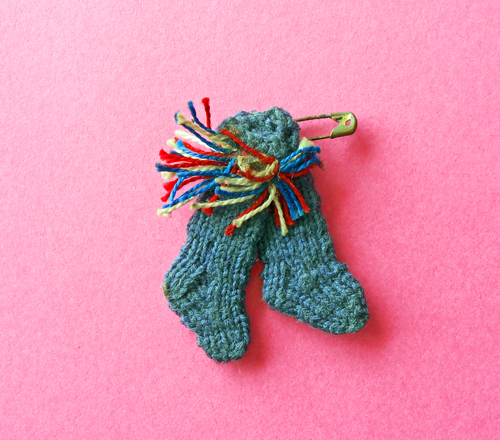 Sock mascot