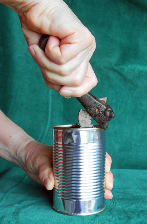 Opening a can