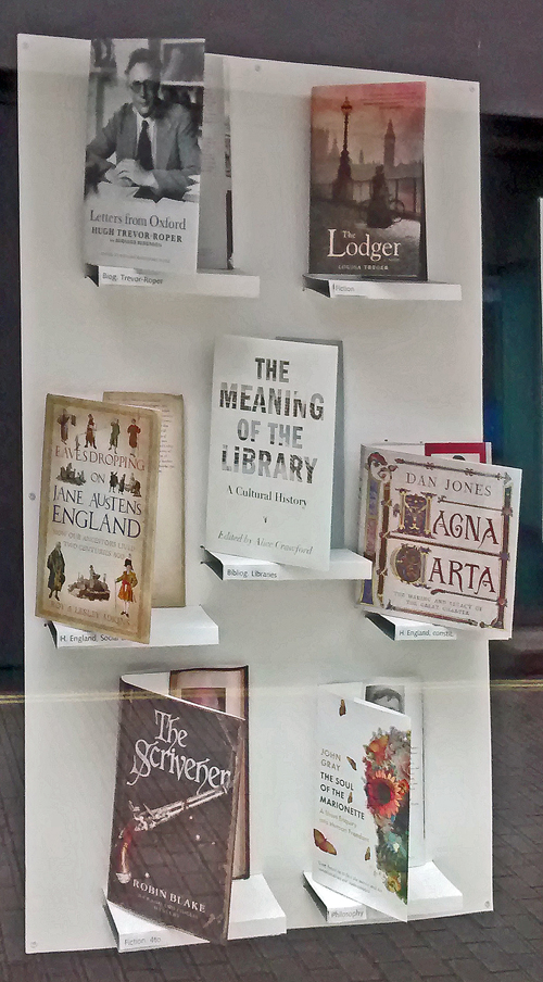 London Library Display 01