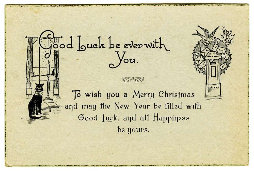 World War One Christmas card
